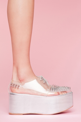 Stinger Spike Platform in What's New at Nasty Gal