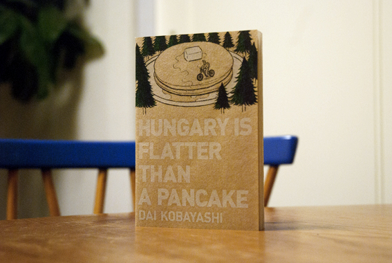 HUNGARY IS FLATTER THAN A PANCAKE | Maiko Dake - Illustration