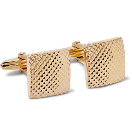 Lanvin - Textured Gold-Tone Cufflinks