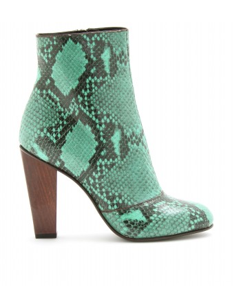 mytheresa.com - Dries Van Noten - STIEFEL MIT SCHLANGENPRINT - Luxury Fashion for Women / Designer clothing, shoes, bags