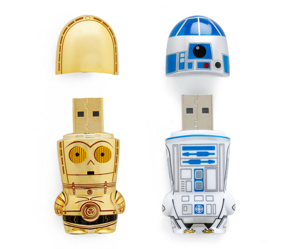 Store Troopers: C3PO And R2-D2 USB Drives | Incredible Things