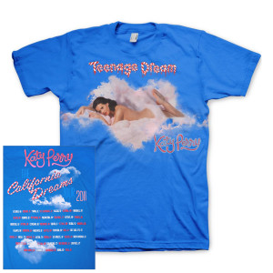 Katy PerryT-Shirts | Katy Perry Heart-Shaped Cloud 2011 Tour T-Shirt|Shop the Katy Perry Official Store