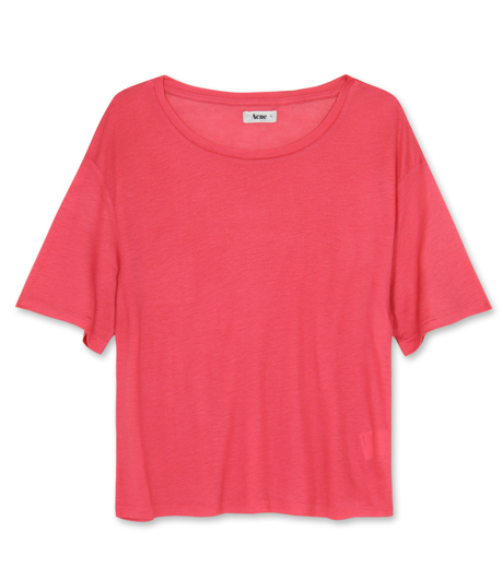 Acne(2012SS)(アクネ) - Tencel T-shirt | RESTIR Online Boutique