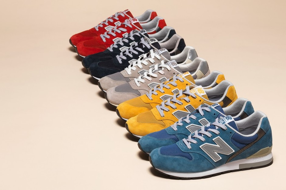 New Balance M996 RevLite Fall 2013 • Highsnobiety