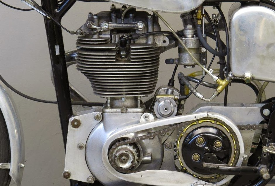 MotArt: Pike-BSA 1952 350cc Gold Star GP Racer