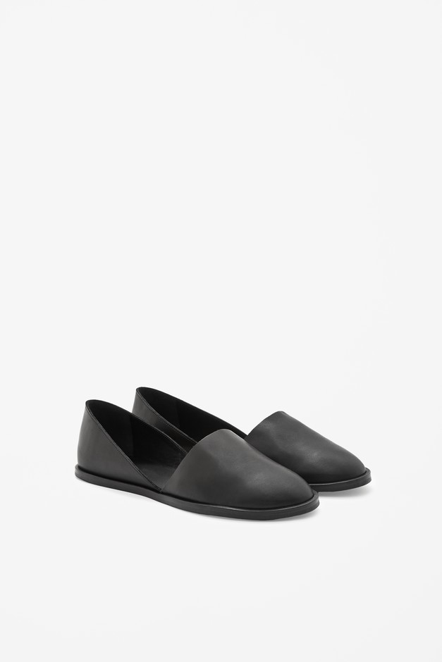flat leather shoes cos - Google Search