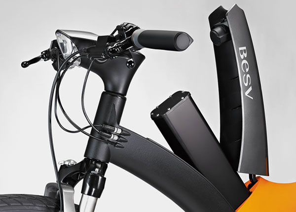 BESV - LX 1 | Premium pedal-assisted electric bicycle