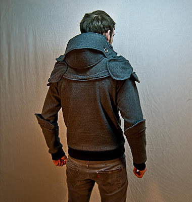 Super Punch: Suit of armor hoodie