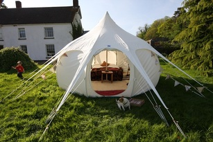 Lotus Belle Tent UK - home