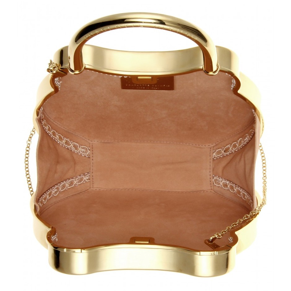 mytheresa.com - Chastity metallic clutch - Clutch bags - Bags - Luxury Fashion for Women / Designer clothing, shoes, bags