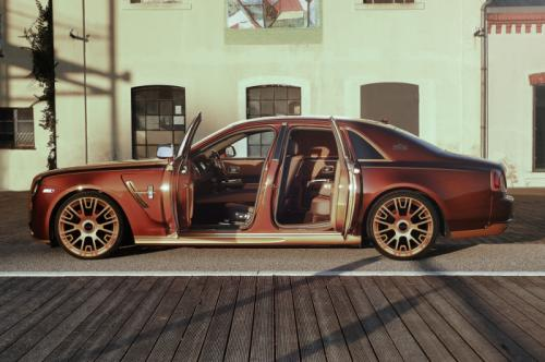 Mansory tricks out Rolls-Royce Ghost Series II in a good way - Photos