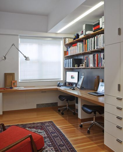modern home office by Mabbott Seidel Architecture | House