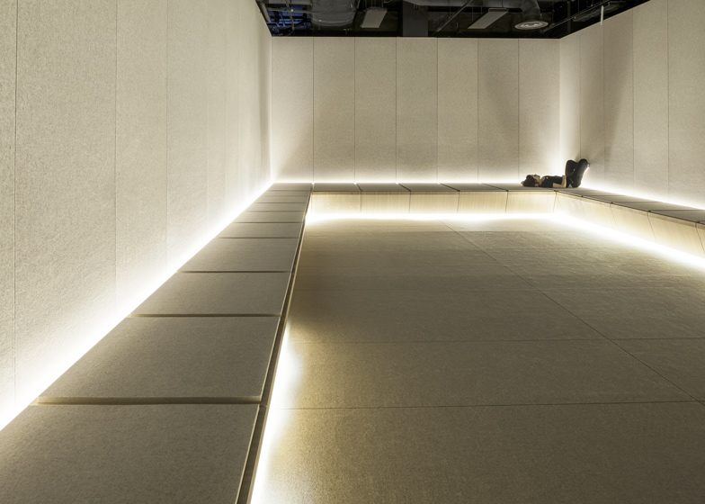 The Silence Room at Selfridges by Alex Cochrane Architects