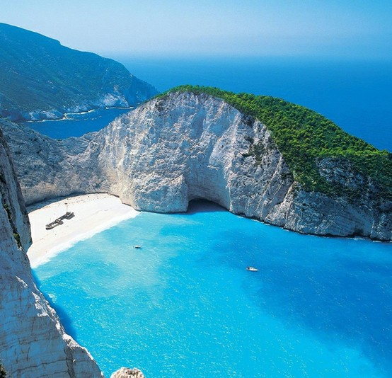 Navagio Beach, Zakynthos, Greece | Beautiful Places to Visit