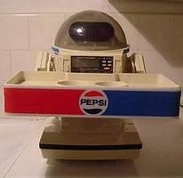 Pepsi Omnibot by Tomy - The Old Robot's Web Site