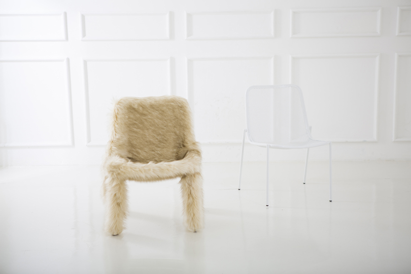 clothed furniture by jung eunyoung | designboom