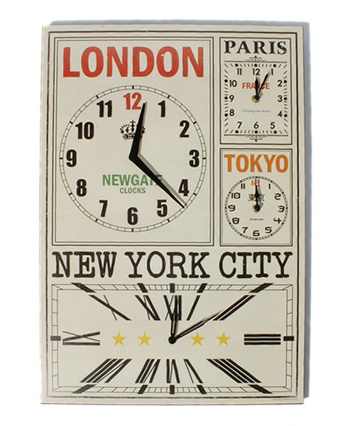 WORLD TIME CLOCK 485048 - Youthwant Japan Shop(Buy/Bid Japanese Products Online)