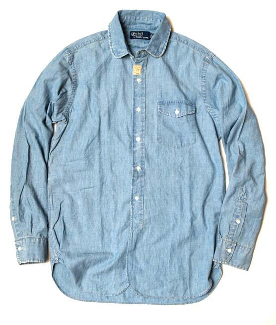 Ralph Lauren】 ROUND-COLLAR CHAMBRAY SHIRT - Google 画像検索