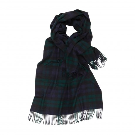 Cashmere Tartan Stole - Scarves - Accessories - fine cashmere clothing, accessories and knitwear