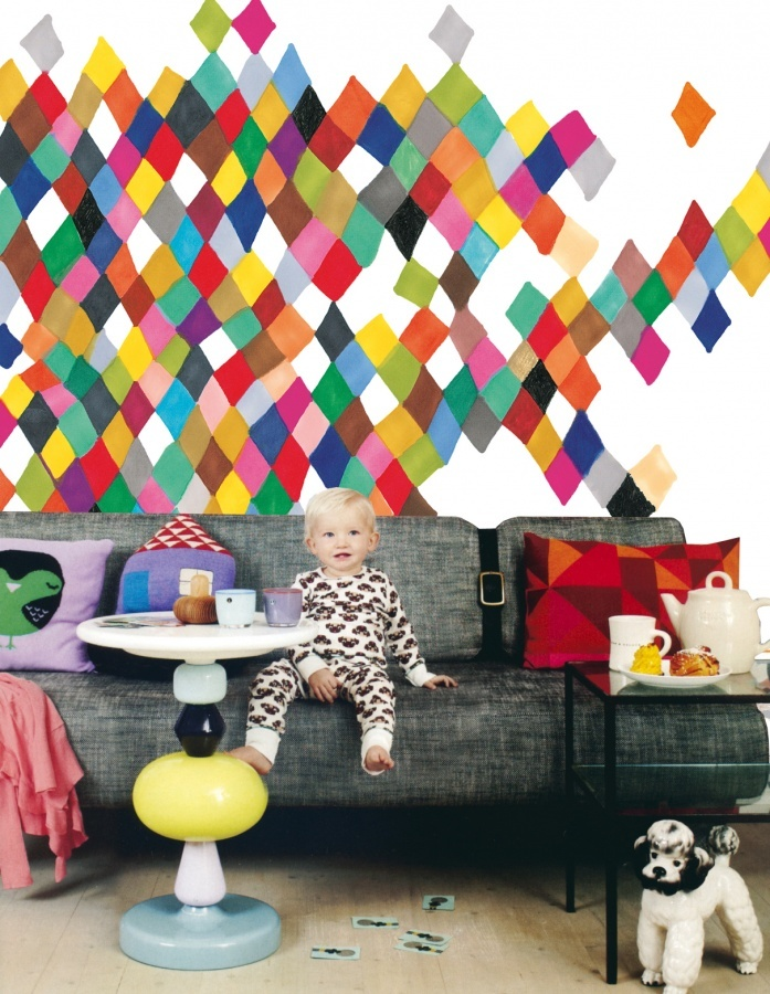 Colors on the wall   kid's room   Pinterest