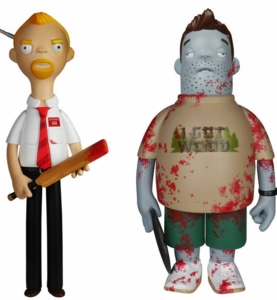 Shaun of the Dead Vinyl Idolz Complete Set (2)