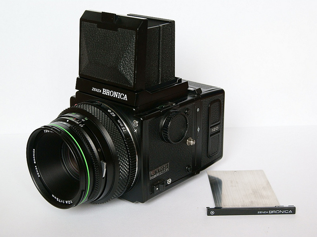 New toy. Bronica ETRS + 75 f/2.8 | Flickr - Photo Sharing!