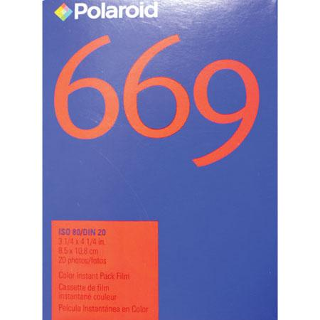 Polaroid Product Reviews and Ratings - Instant Film & Accessories - Polaroid 669 Instant Color Print Film, Single Pack of 10, for use in Pack Film Cameras and for Image and Emulsion Transfer. from Adorama