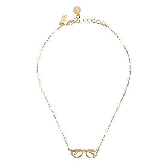 kate spade | necklaces for women - hang in there mini glasses pendant