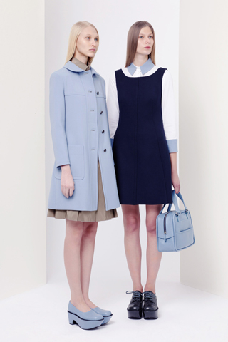 Jil Sander Navy Fall 2012 Ready-to-Wear Collection Slideshow on Style.com