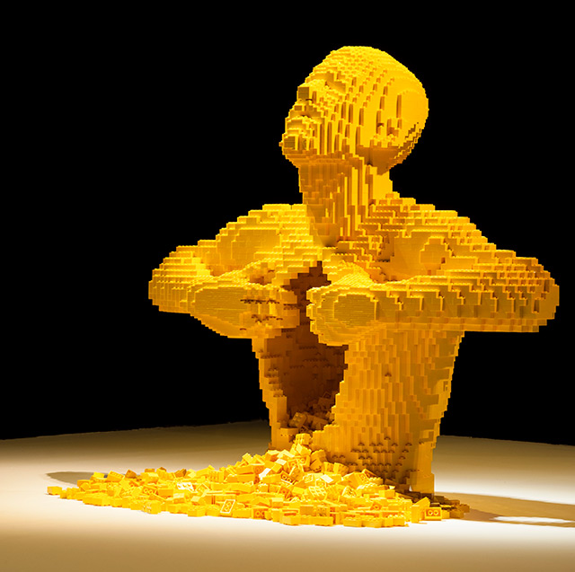 Art of the Brick: Nathan Sawaya's LEGO Solo Show in New York | Colossal