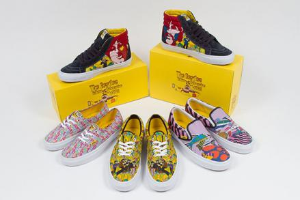 THE BEATLES × VANS YELLOW SUBMARINE COLLECTION