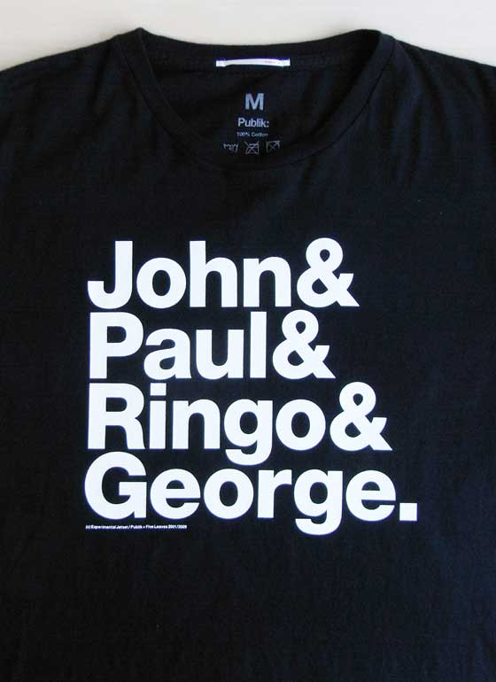 "THE ORIGINAL – ""JPRG"" T-Shirt by Experimental Jetset 