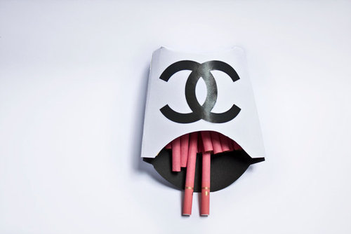 Snapshot: Chanel Cigarettes | RDuJour on we heart it / visual bookmark #13910073