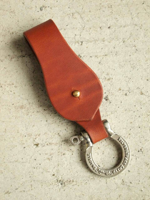 """""""HERBIE"""" Key Ring Instructions. Leather strap. 