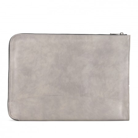 iFolio | Leather iPad and Computer Case | Cloud Grey | TUSTING