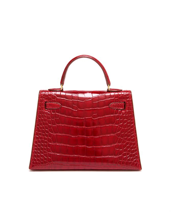 VINTAGE HERMES | Vintage Mini Alligator Leather Kelly Handbag | Browns fashion & designer clothes & clothing
