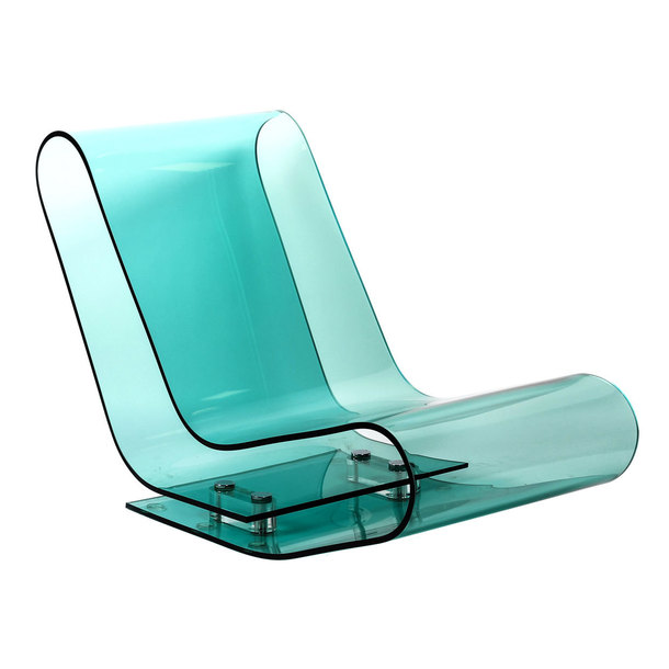 LCP Chaise Lounge Light Blue by Kartell | Fab.com