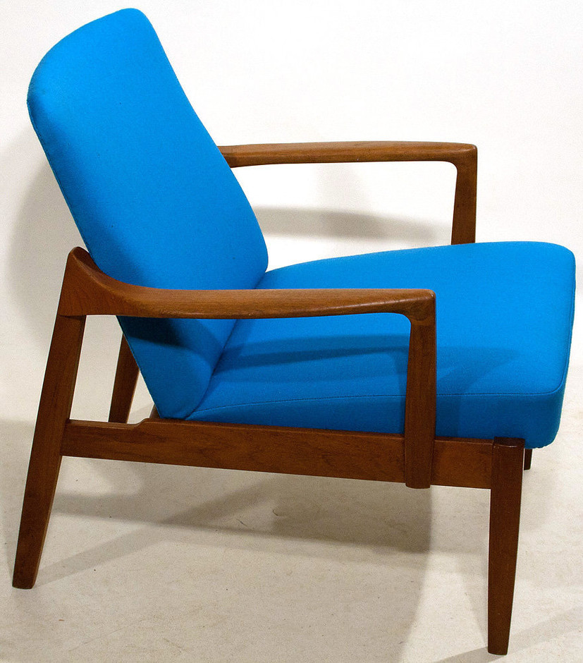 Easy chair in teak by Tove & Edvard Kindt-Larsen for sale