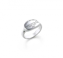 Tiffany and Co return to tiffany oval tag ring jewelry - $55.99