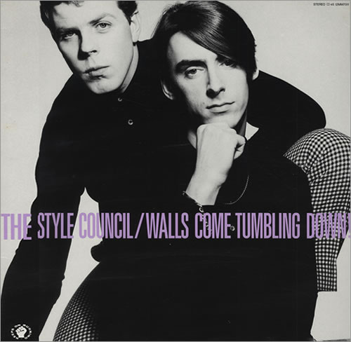 """The Style Council Walls Come Tumbling Down! Japan 12"""" vinyl single (12 inch record / Maxi-single) (431043)"""