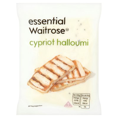 essential Waitrose Cypriot halloumi cheese, strength 1 | Waitrose & Partners