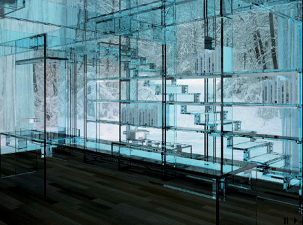 Glass Concept Home by Santambrogiomilano | Apartment Therapy San Francisco