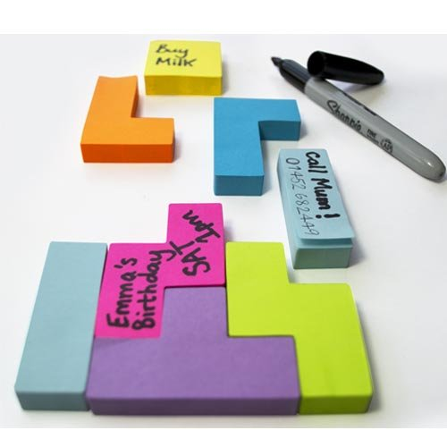 Amazon.com: Block Notes - Video Game Shaped Sticky Notes: Office Products