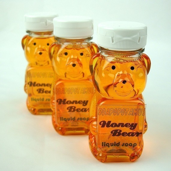 Honey Bear Liquid Soap by soapopotamus on Etsy