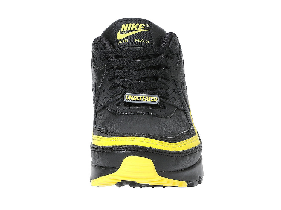 UNDEFEATED × NIKE AIR MAX 90 - BLACK/YELLOW |NEW SNEAKER|アンディフィーテッド公式通販サイト | UNDEFEATED.JP