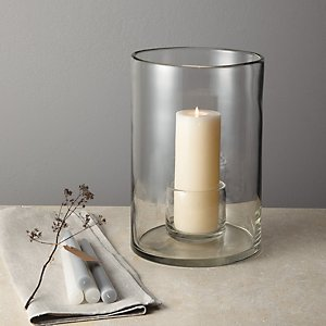 Henry Dean Candle Holder - Large | The White Company