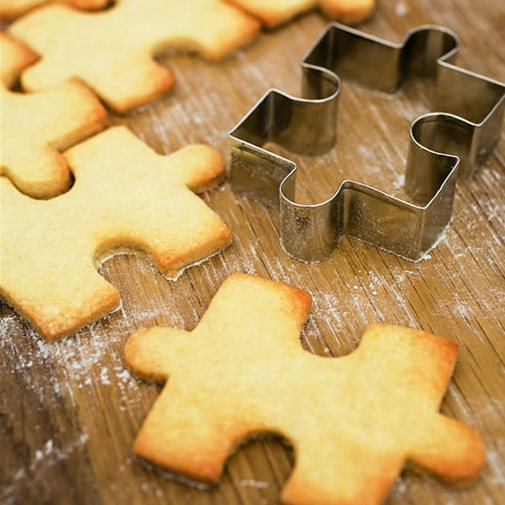 Jigsaw Cookie Cutter ? Cox & Cox, the difference between house and home.