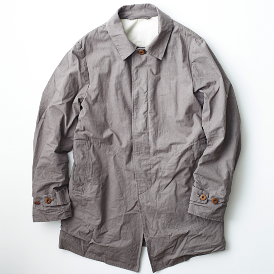 Spring Coat -ORGANIC COTTON/LINEN CANVAS- - Bricklayer *A vontade アボンタージ直営店