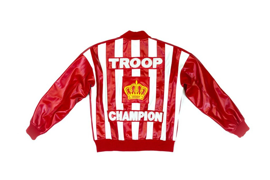 World of Troop | Troop Champion Leather Jacket Red/White