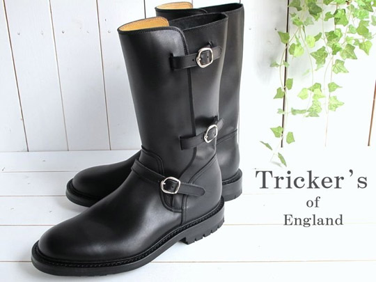 Tricker's Motorcycle Boots
